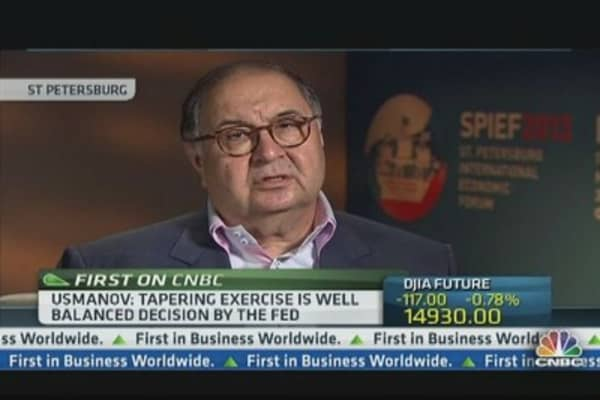 Usmanov: Fed's Actions Were 'Vital'
