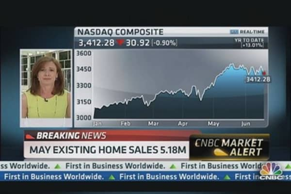 Existing Homes Sales Up 4.2%