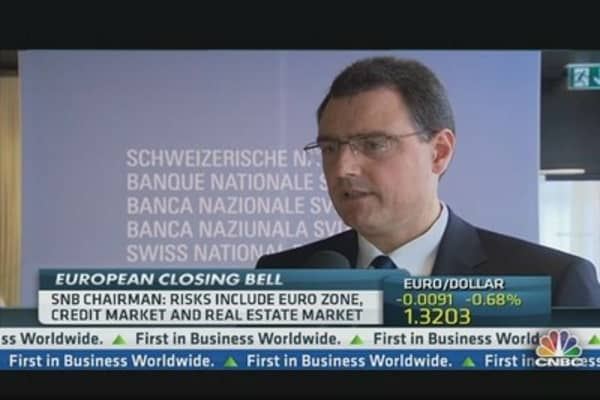 SNB: We Won't Rule Out Negative Rates