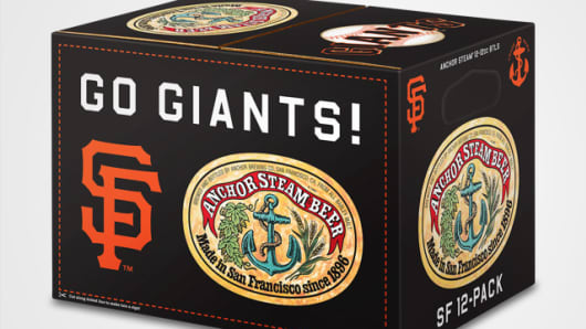 Anchor Steam Brewery Go Giants 12 pack