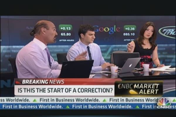 A Blip in Stocks -- Or Something Bigger?