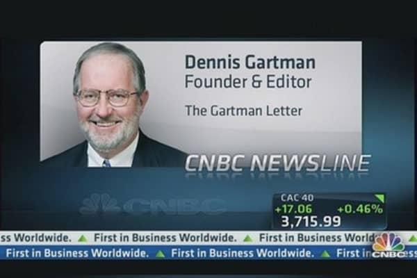 Long Gold, You Have a Problem: Gartman