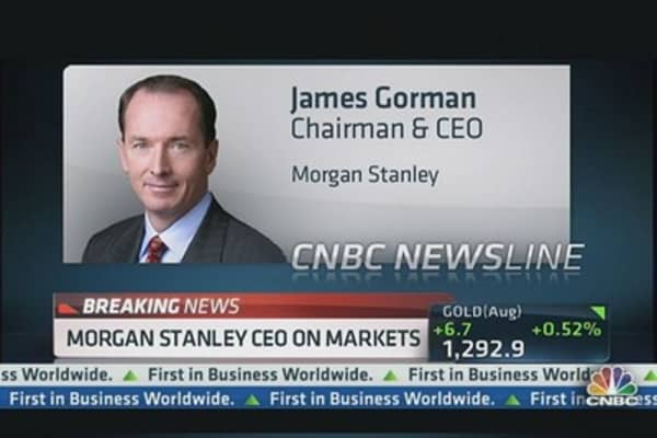Gorman on Markets, MSSB Acquisition