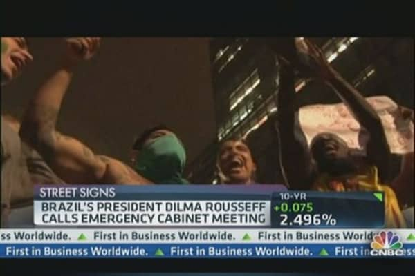 Brazil Faces Worst Internal Unrest