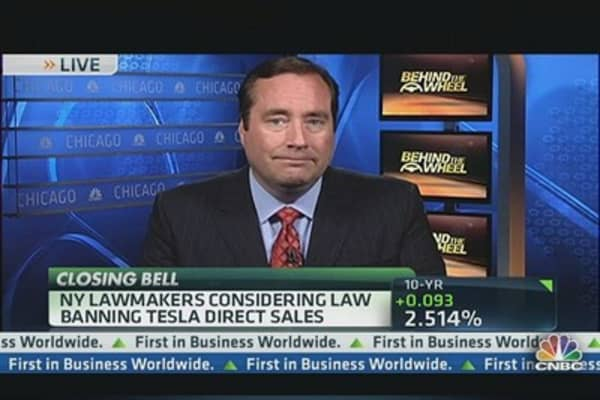 NY Considering Law Banning Tesla Sales