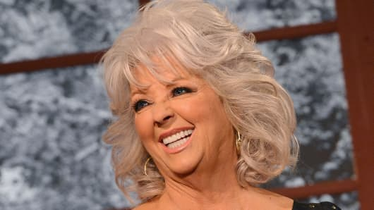 Cooking show host Paula Deen.