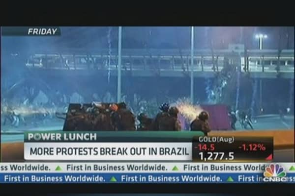 More Protests Break Out in Brazil