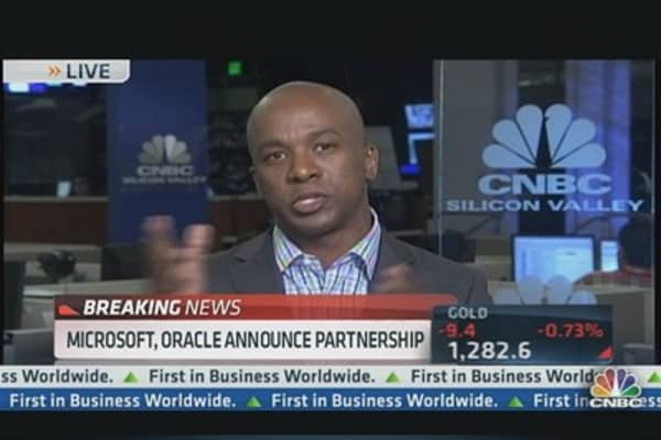 Microsoft & Oracle Announce Partnership