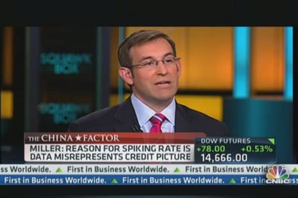 China's Real Credit Picture