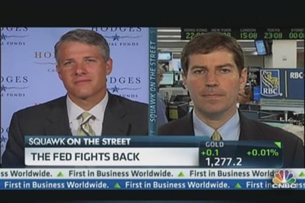 The Fed Fights Back