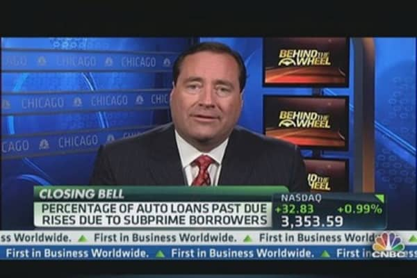 Overdue Auto Loans On the Rise
