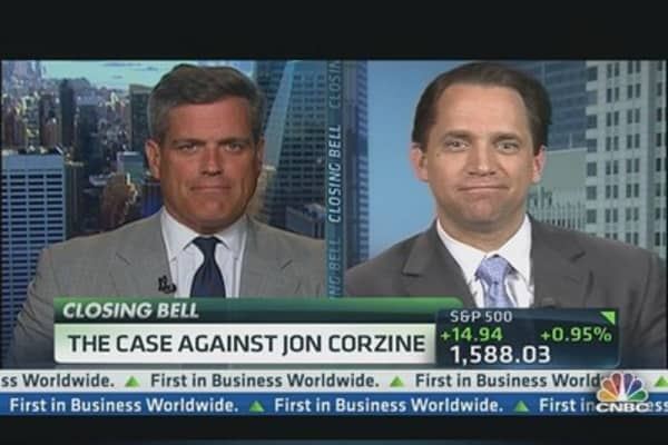 Corzine In the Crosshairs