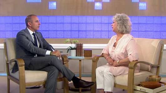 Matt Lauer interviews Paula Deen on the TODAY Show in the wake of her firing from the Food Network.