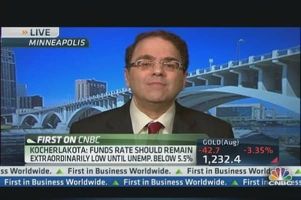 Kocherlakota: Fed Needs to be Clearer on Policy