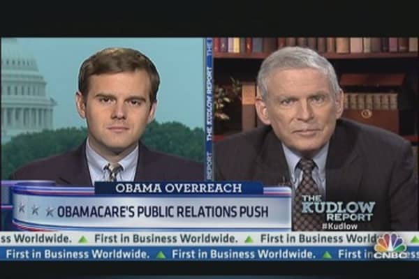 Obamacare's Public Relations Push