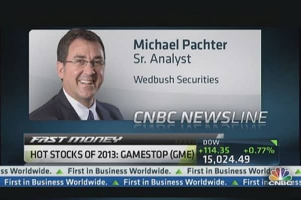 Hot Stocks of 2013: GameStop