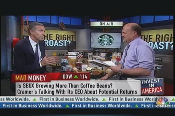Starbucks CEO: Have to Stay Relevant in Communities