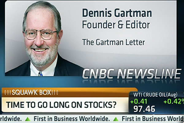 Gartman: Gold Probably 'Seen Its Worse'