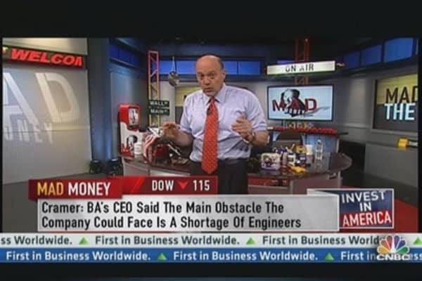 Cramer: Stay Clear-Headed, Never Give Up