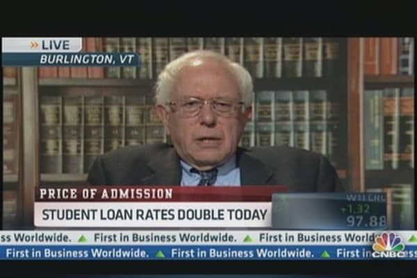 Student Loan Rates Double Today