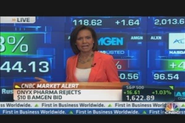 Onyx Rejects Amgen's $10 Billion Bid