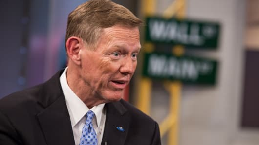 Alan Mulally, president and CEO of Ford Motor Co.