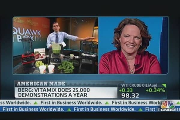 VitaMix Finds the Right Blend of Juices and Profits