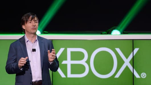 Don Mattrick, president of the Interactive Entertainment Business at Microsoft.