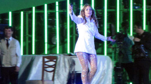 Jennifer Lopez sang 'Happy Birthday' to Gurbanguly Berdimuhamedow, president of Turkmenistan, described by Human Rights Watch as one of the world's most repressive' regimes. June 29, 2013.