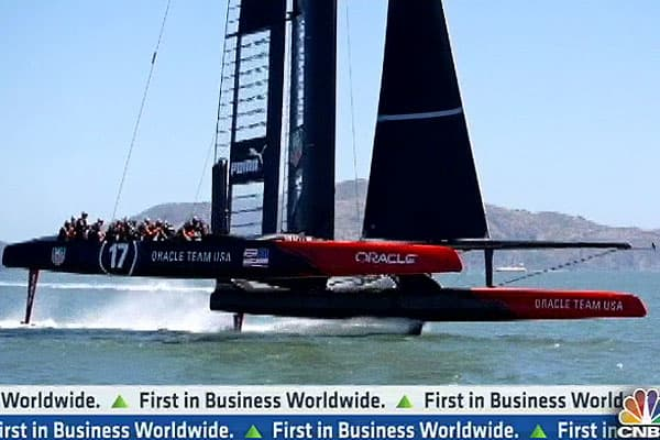 America's Cup: $100 Million 'Flying' Boats
