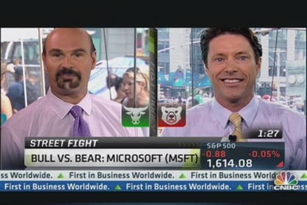 Debate It: Bull vs. Bear on Microsoft