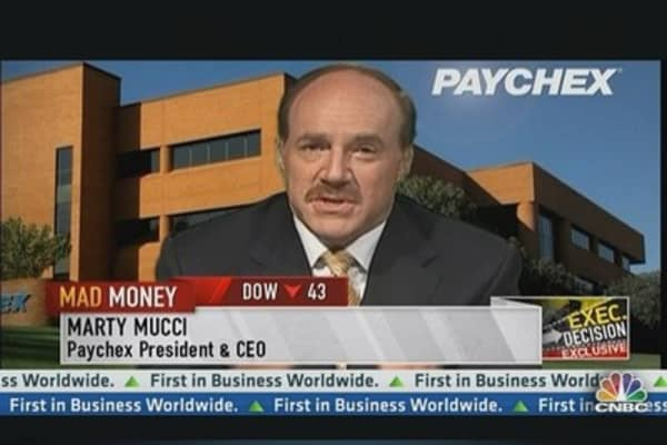 Paychex CEO: Hopeful Hiring Will Bounce Back