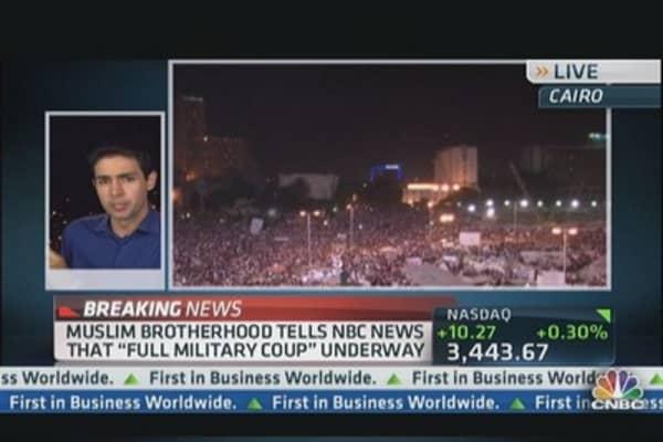 Egyptian Military Deployed to Key Roads: NBC