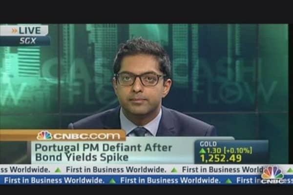 Portugal's Crisis Threatening Euro