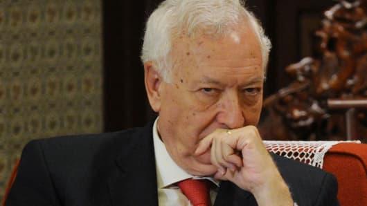 Spain's Foreign Minister José Manuel García-Margallo