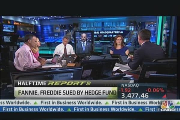 Fannie, Freddie Sued by Hedge Fund