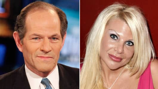 Eliot Spitzer and ex-madam Kristin Davis.