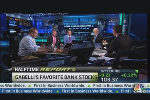 Gabelli's  Favorite Bank Stocks