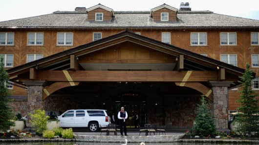 Sun Valley will host corporate leaders for the 31st annual Allen & Co. media and technology conference, where powerful players gather for weeklong meetings, which began Tuesday.