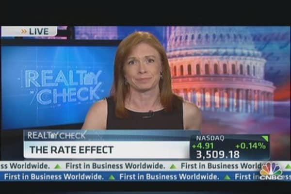 The Rate Effect on Real Estate