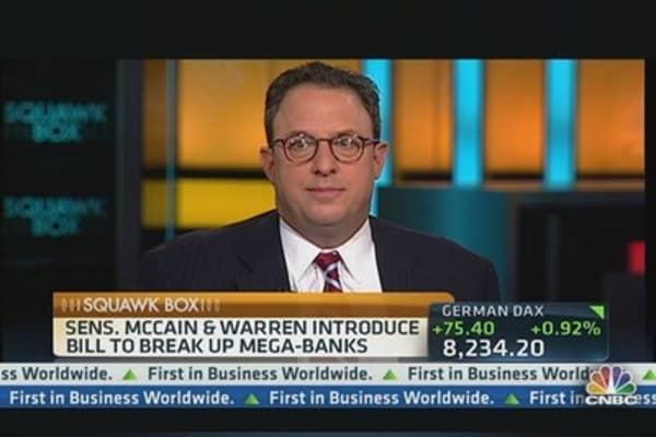 Glass-Steagall Reform Bill Won't Pass: Expert
