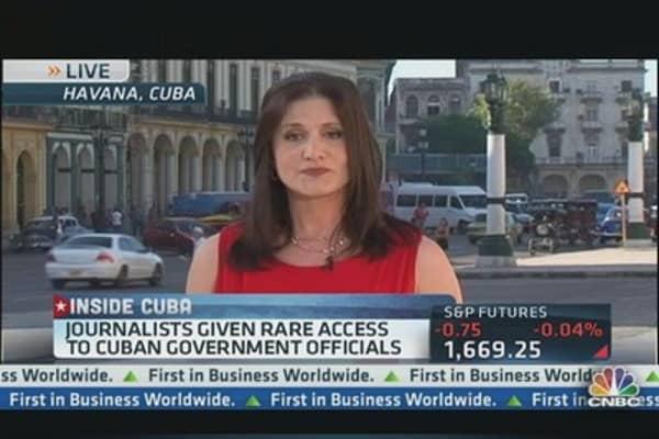 Cuba's Sales Pitch