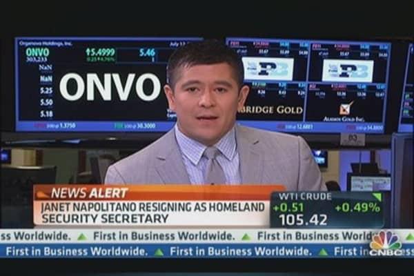 Janet Napolitano Resigns