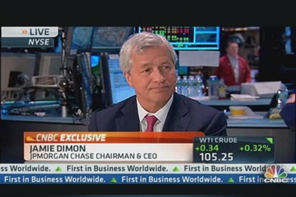 Jamie Dimon: 'American Economy is Getting Stronger'