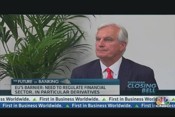 EU's Barnier: We Will Regulate Derivatives