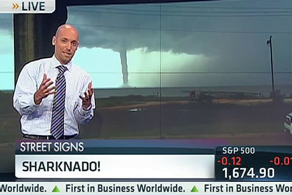 The Probability of a 'Sharknado'