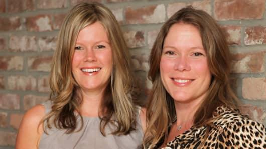 Deborah Abbaszadeh, left, and her sister Joy Kosak