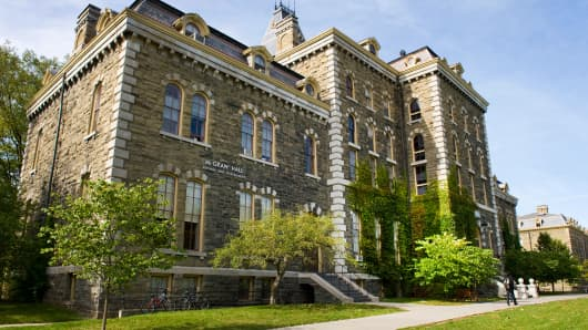 McGraw Hall, Cornell University, Ithaca, N.Y.