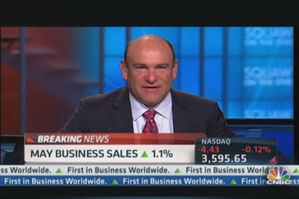May business sales up 1.1%