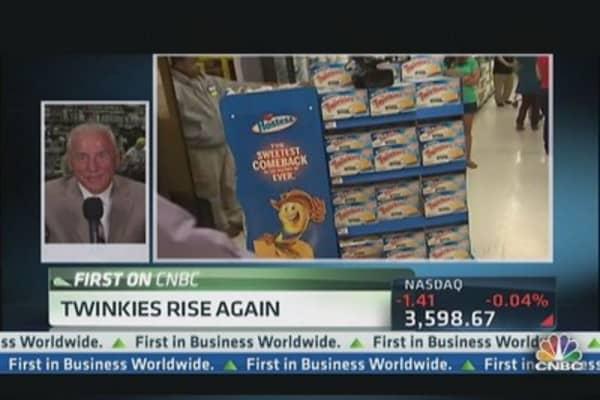 Sweet return; Twinkies rise again!